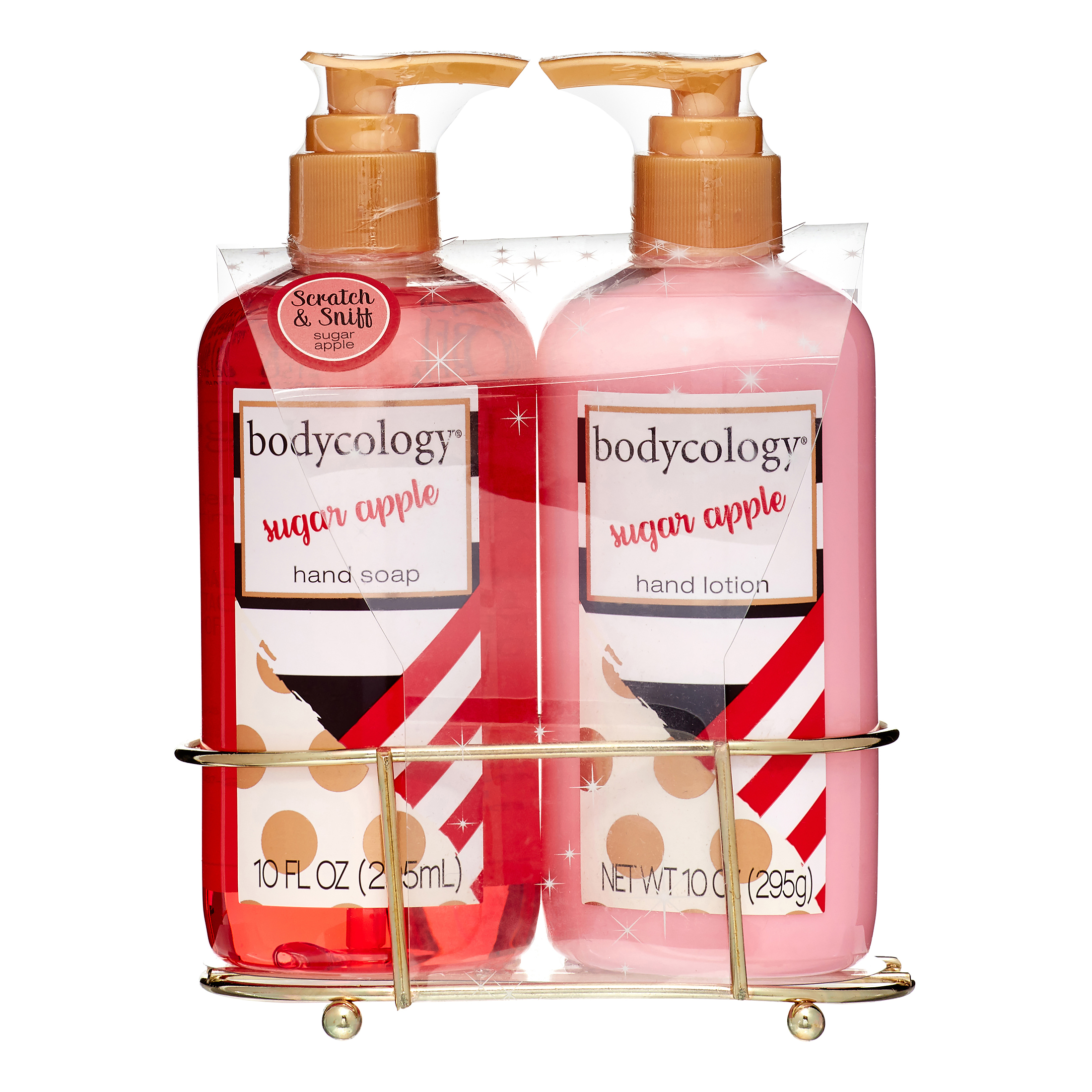 Bodycology Sugar Apple Hand Soap & Hand Lotion Gift Set