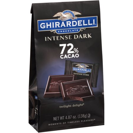 Ghirardelli Intense Dark Twilight Delight 72% Cacao Chocolate, 4.87 Oz. ()