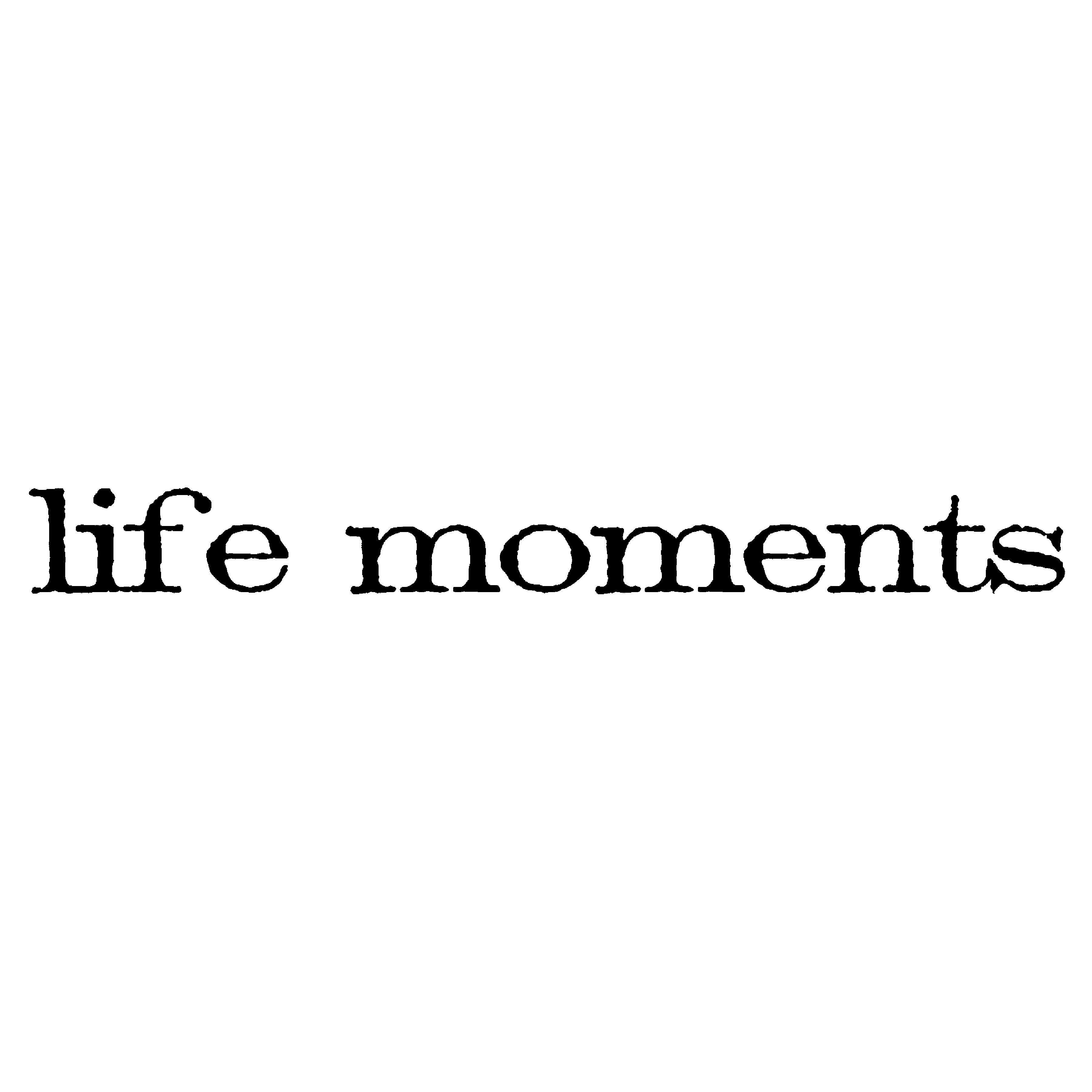 """Tim Holtz Mounted Red Rubber Stamp .75""""X2.5""""-Life Moments"""