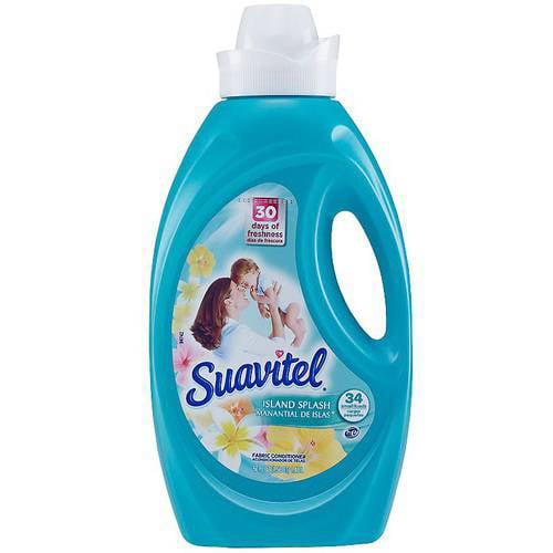 Suavitel Island Splash Liquid Fabric Conditioner, 50 fl oz