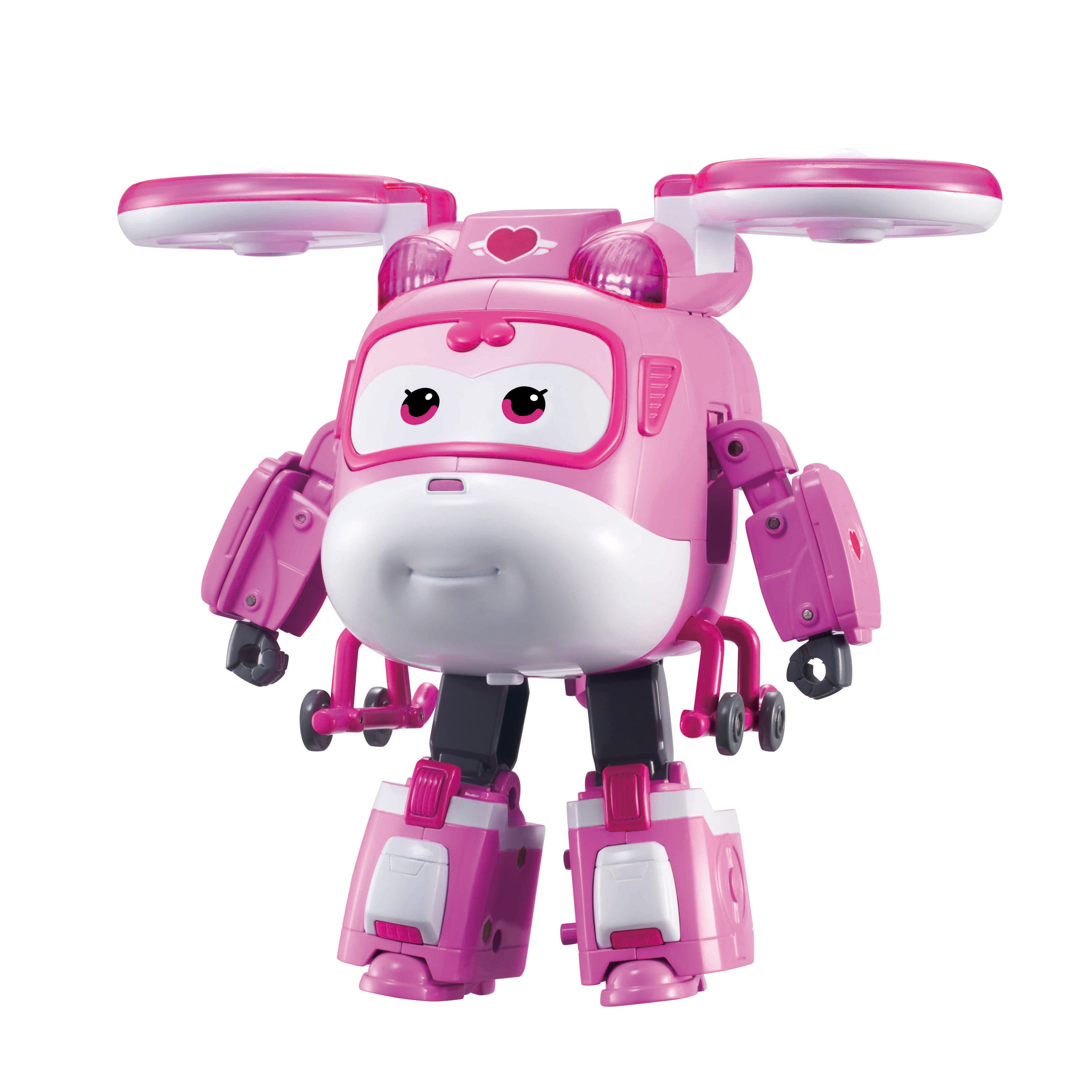 Super Wings Rescue Power Small Light Pink Canvas Backpack