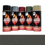 Metallic Rich Brown - 1200 Degree Wood Stove High Temp Paint -
