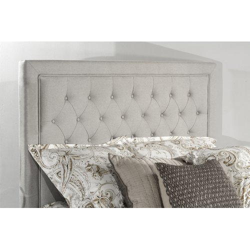Hillsdale Furniture Kaylie Upholstered Tufted Headboard, Multiple Sizes