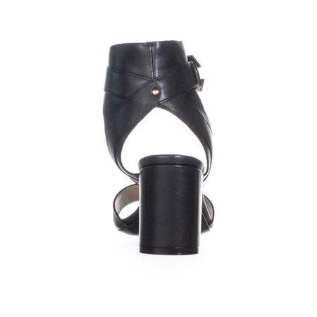 Cole Haan Avani Ankle Buckle Sandals, Black Leather - image 3 of 6