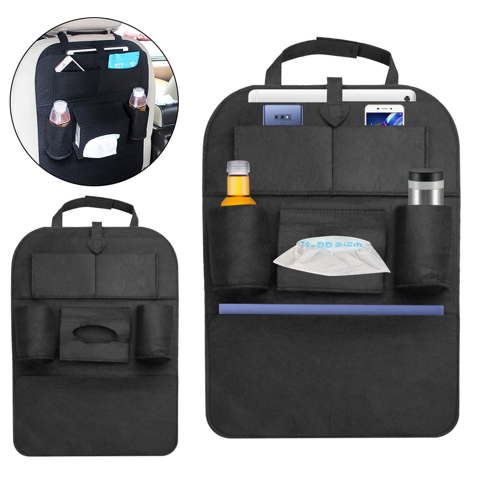Auto Car Seat Back Multi-Pocket Hanging Bag Storage Organizer Holder Accessory