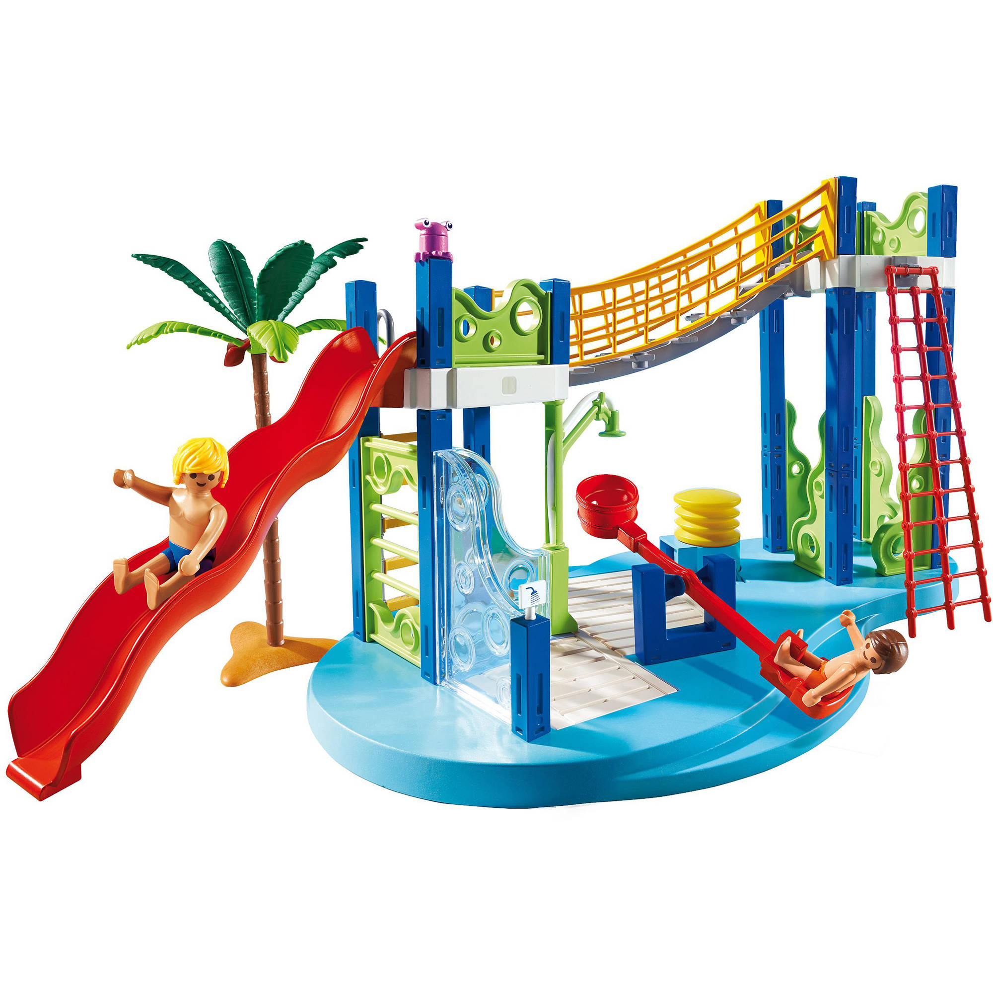 PLAYMOBIL Baby Pool With Slide Playset   Walmart.com