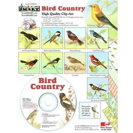 Bird Country Clip-Art CD-ROM - Office Clipart
