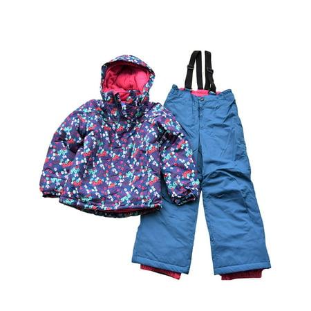 Snow Country Outerwear Little Girls Snowsuit Ski Jacket and Snow Pants Set (Arcteryx Fission Sl Jacket)