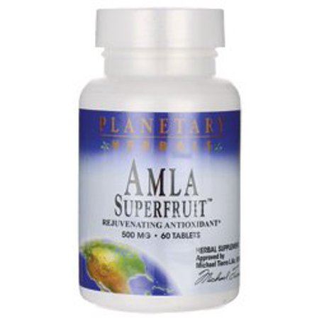 - PLANETARY HERBALS Amla Super Fruit Rejuvenating Antioxidant Supplement, 60 Count