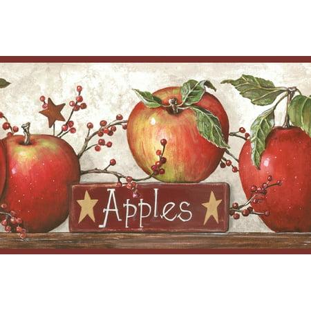 877803 Apples Wallpaper Border CB5557bd