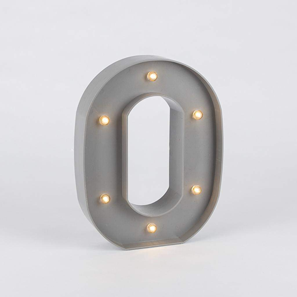 Gerson 93166 93154O Gray Plastic Letters and Symbols by