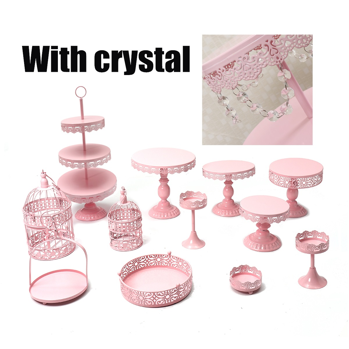 Royal Brands Carousel Cupcake Stand Holds Up To 12 Cupcakes White Elegant For All Occasions Birthday Baby Shower Parties