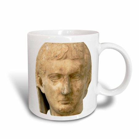 3Drose Statue Of Tiberius  Roman Emperor  Athens  Greece   Hi12 Pri0304   Prisma  Ceramic Mug  15 Ounce