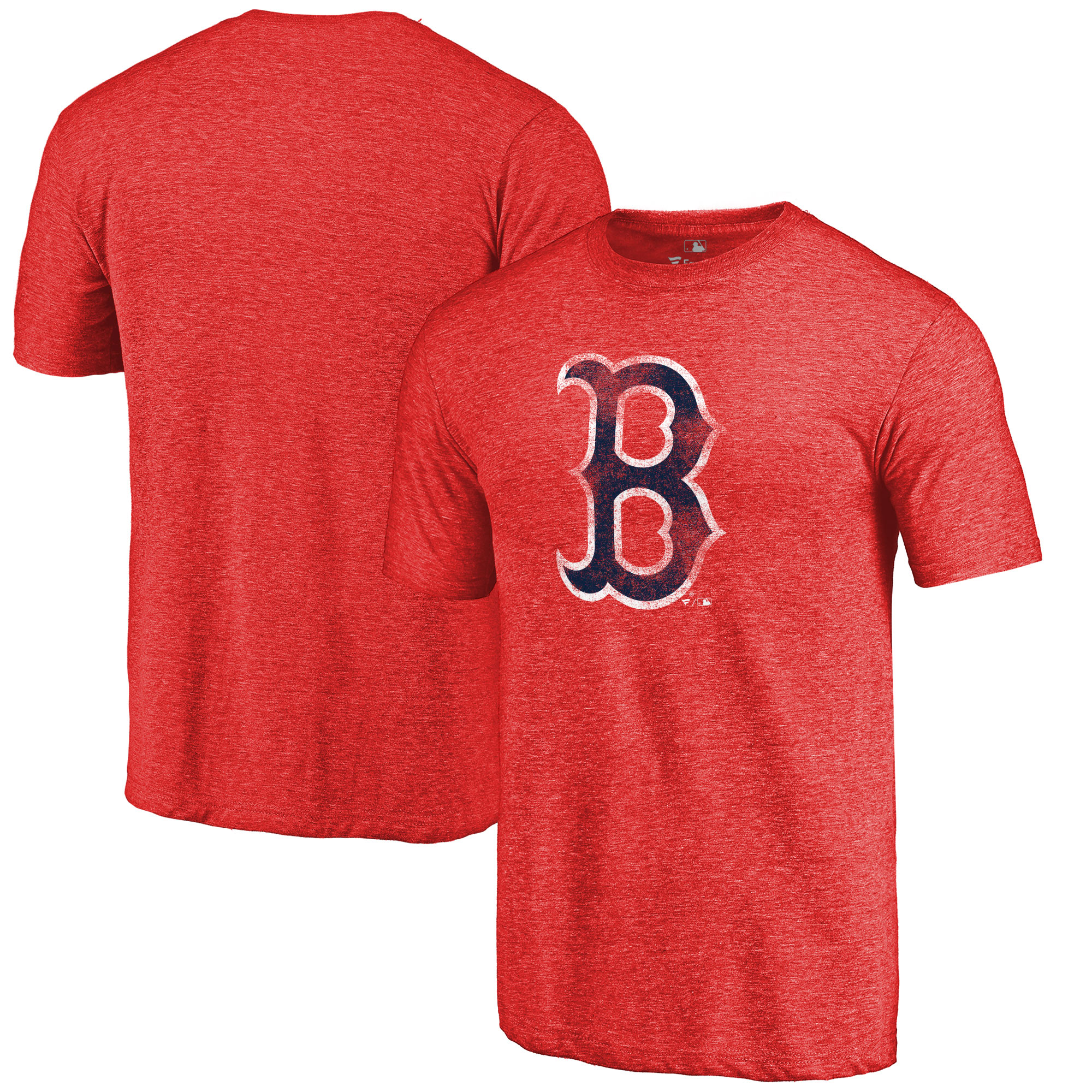 Boston Red Sox Fanatics Branded Team Tri-Blend T-Shirt - Red