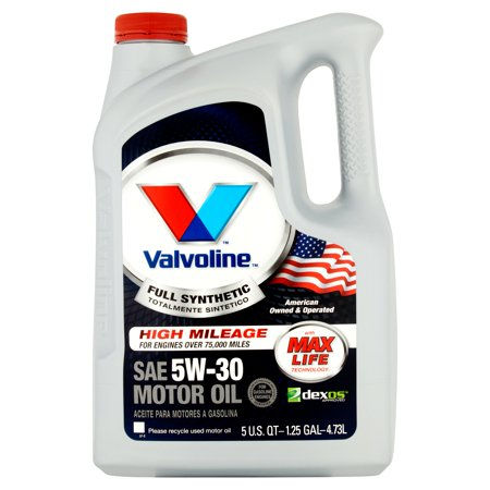 Valvoline Full Synthetic With Max Life Technology Sae 5w