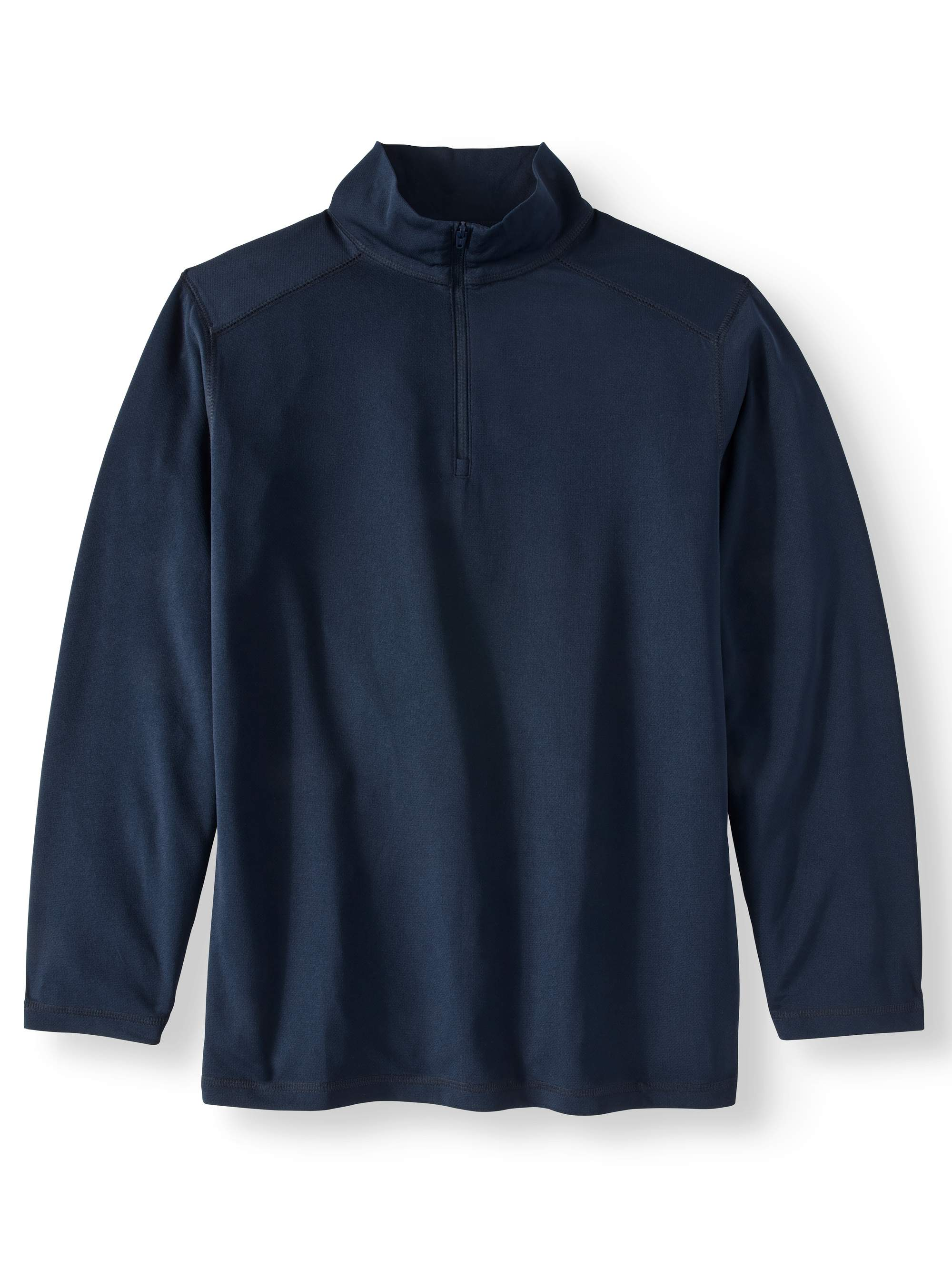 Boys School Uniform Quarter Zip Performance Pullover