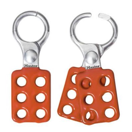 Lockout Hasp (Safety Series Lockout Hasps, 1 1/2 in W x 4 3/8 in L, 1 in Jaw dia.)