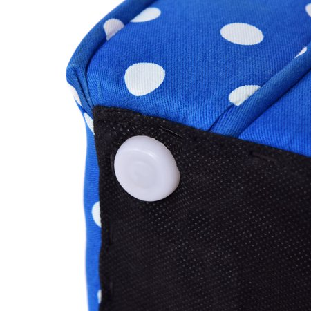 Blue w/Dots Kid Sofa Armrest Chair Couch Child Living Room Toddler Furniture - image 5 de 8