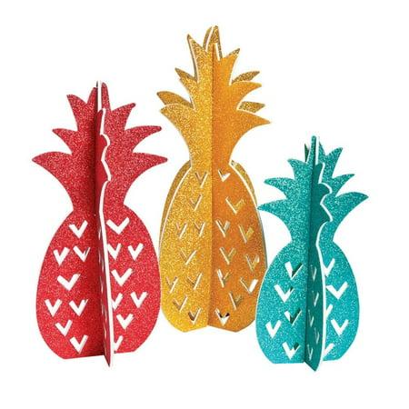Pineapple Centerpieces](Pineapple Centerpiece Ideas)