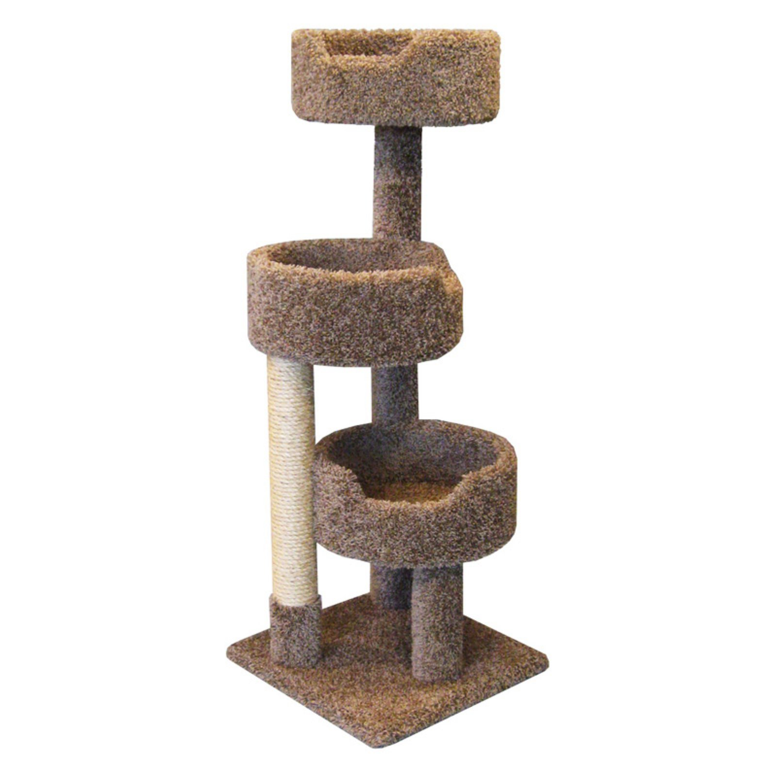 New Cat Condos Deluxe Kitty Pad 52 in. Cat Tree
