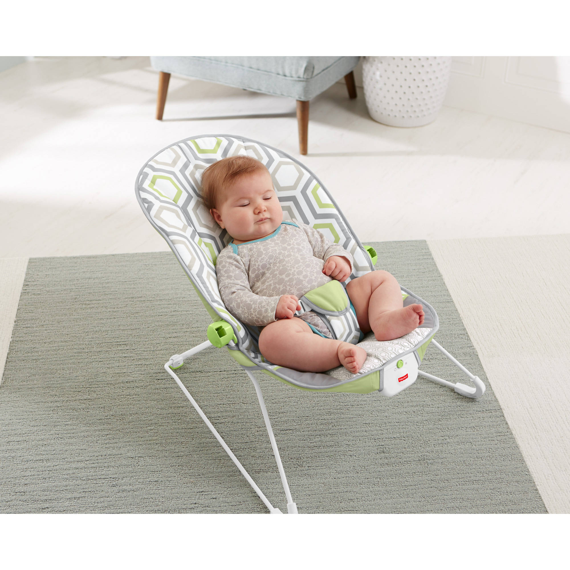 868c16ffa038 Fisher-Price Baby s Bouncer with Removable Toy Bar