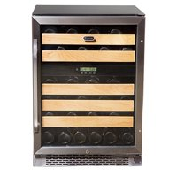 Whynter BWR-461DZ 46-Bottle Dual Temperature Zone Built-In Wine Refrigerator