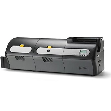 Zebra Dual Sided ID Card Printer and Dual Sided Laminator Magnetic Encoder USB and Ethernet connectivity by