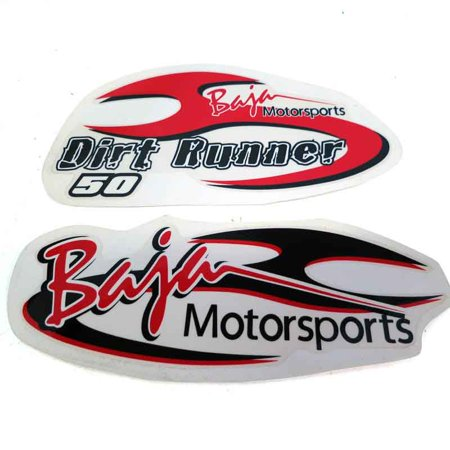 - DR50-616 Baja OEM Decal Set Graphic And Warning