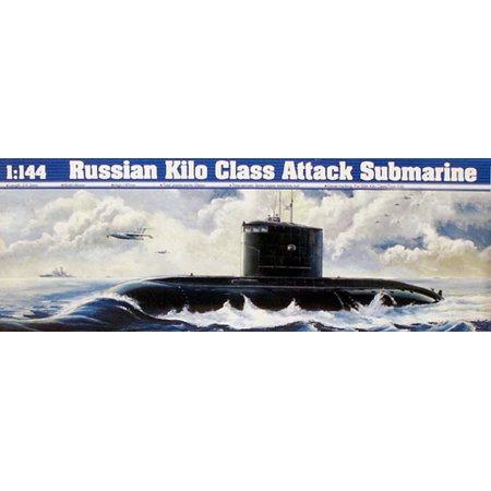 1/144 Soviet Kilo Class Type 636 Attack Submarine