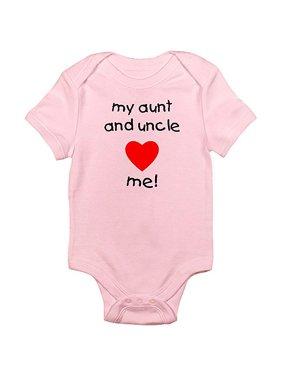 3481379ff Product Image Newborn Baby Boy, Girl or Unisex Aunt & Uncle Bodysuit