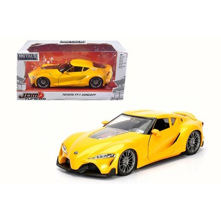 Toyota FT-1 Concept, Yellow - Jada 98416WA1 - 1/24 Scale Diecast Model Toy Car Toyota Car Photo