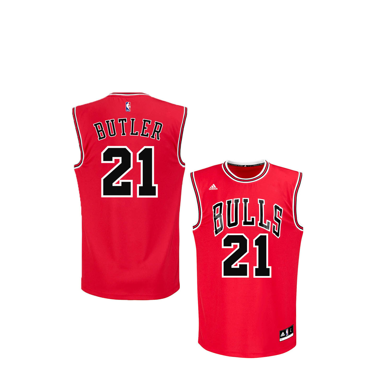 Chicago Bulls Toddler Jimmy Butler Replica Basketball Jersey - Red #21