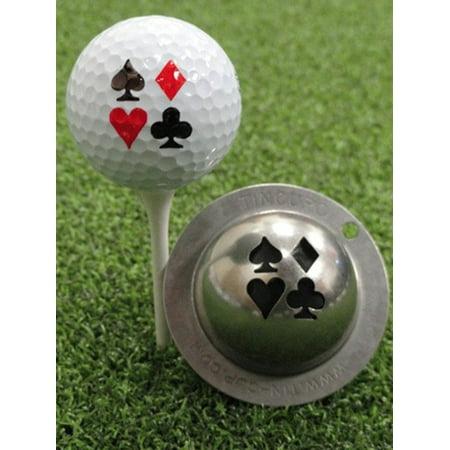 Tin Cup Golf Ball Custom Marker Alignment Tool - Vegas Nights (Playing