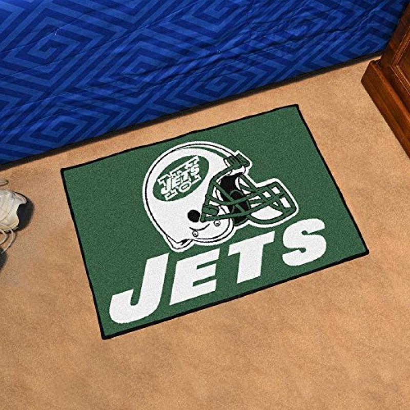 """Fan Mats 5815 NFL - New York Jets 20"""" x 30"""" Starter Series Area Rug / Mat"""