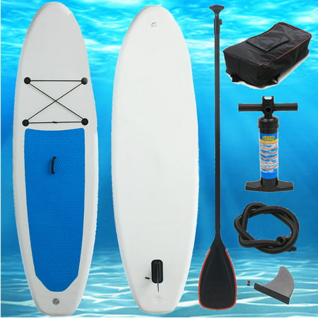 10ft x 2.2ft Inflatable Stand up Paddle Board Surfboard Inflatable Board with Travel Backpack Hand Pump for Surfing/ Aqua