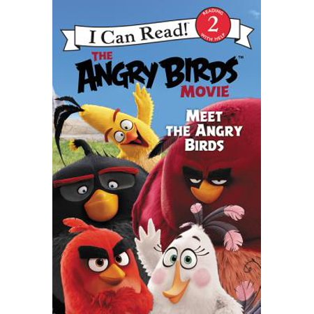 I Can Read Level 2: The Angry Birds Movie: Meet the Angry Birds - 1-7 Angry Birds Halloween