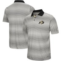 Colorado Buffaloes Colosseum Lesson Number One Polo - Gray