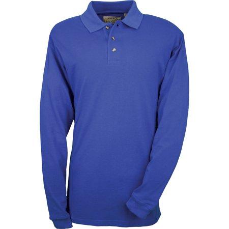 Colorado Timberline Newbury Polo Sport Shirt 100  Cotton W  Long Sleeves
