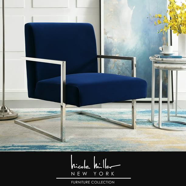 Nicole Miller Velvet Accent Chair, Nicole Miller Furniture