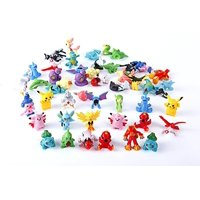 24 Piece Anime Figures for Pokemon Inspired Birthday Themed Party