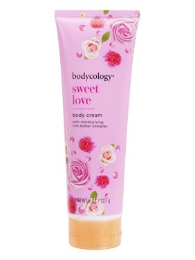 Bodycology Sweet Love Moisturizing Body Cream, 8 oz.
