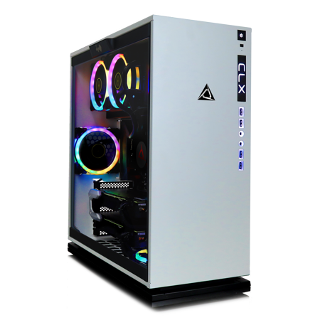 CLX Set GAMING PC Intel Core i9 9900K 3.60 GHz (8 Core) 32GB DDR4 3TB HDD & 960GB SSD Dual NVIDIA RTX 2080 Ti 11GB GDDR6 in SLI MS Windows (Sli Ready Dual Channel)
