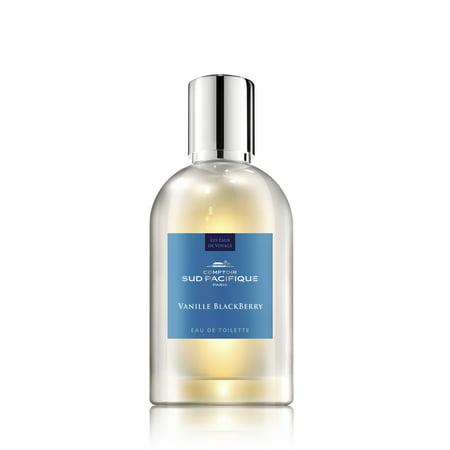 Comptoir Sud Pacifique Vanille Blackberry Eau de Toilette Perfume Spray, 3.3 Oz ()