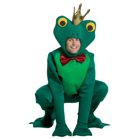Frog Prince Adult Halloween Costume - One Size - Toddler Frog Prince Halloween Costume