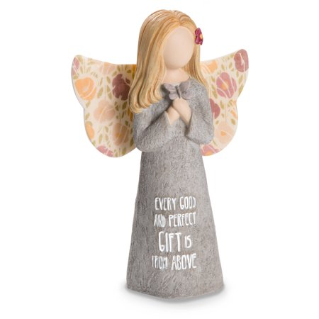 Pavilion - Every Good And Perfect Gift Is From Above - Small Kid Sized Angel Figurine 5 (Child Angel Figurine)