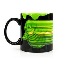 OFFICIAL Ghostbusters Coffee Mug | Glow-In-The-Dark Slimer | Ceramic 20 Oz. Cup