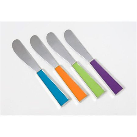 Hors d Oeuvre Anyone Enamel and steel Handled Spreaders set of 4](Halloween Hors D Oeuvres)
