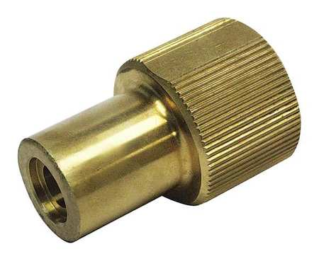 Click here to buy GUARDAIR ASU4150NZ Air Gun Nozzle, 2-5 16in.L, Brass, 150 scfm by Guardair.