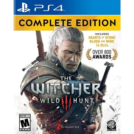 Witcher 3 Wild Complete  Ps4