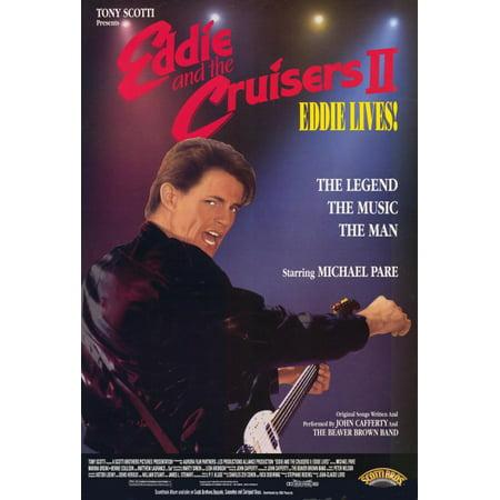 Eddie and the Cruisers 2: Eddie Lives! (1989) 27x40 Movie